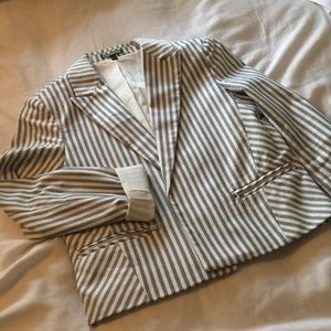 Express Jackets & Coats - Express Striped Blazer